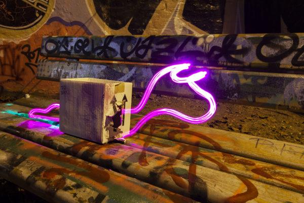 Light Painting Film Production Lichtfaktor